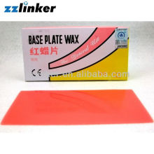 Chinese Dental Products Red Base Plate Wax promotion