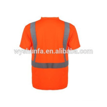 reflective safety T-shirt/safety jacket T-shirt/warning clothing/safety vest