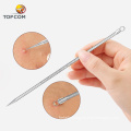 Buy metal blackhead extractor remover pimple popper tool