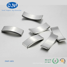 Arc Shaped Motor Neodymium Iron Boron Magnet