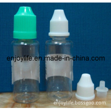 2014 China Wholesale 10ml 30ml Pet or LDPE Plastic Needle or Childproof Cap Empty Bottle for E Liquid