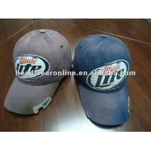 bottle opener baseball caps with embroidery /baseball cap with opener