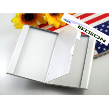 Two Layer Metal Business Card Holder Card Case