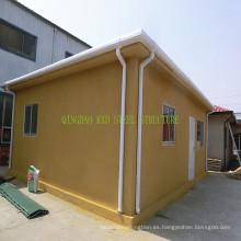 Casa prefabricada del acero del panel concreto del EPS con la certificación de Ce