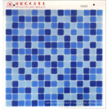 Blue DOT Glass Mosaic Cheap Price 4USD par M2