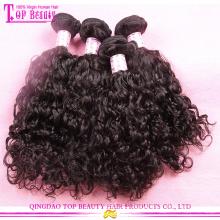 Popular Aliexpress cabelo virgem grandes estoques 7A série Aliexpress extensões de cabelo