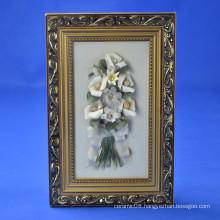 Home Hanging Decoration Flower Frame Craft Ceramic