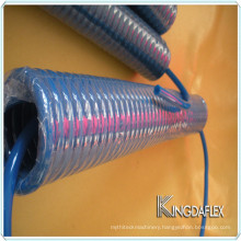 PU Pneumatic Polyurethane PA Nylon Plastic 6mm Spiral Hose for Truck
