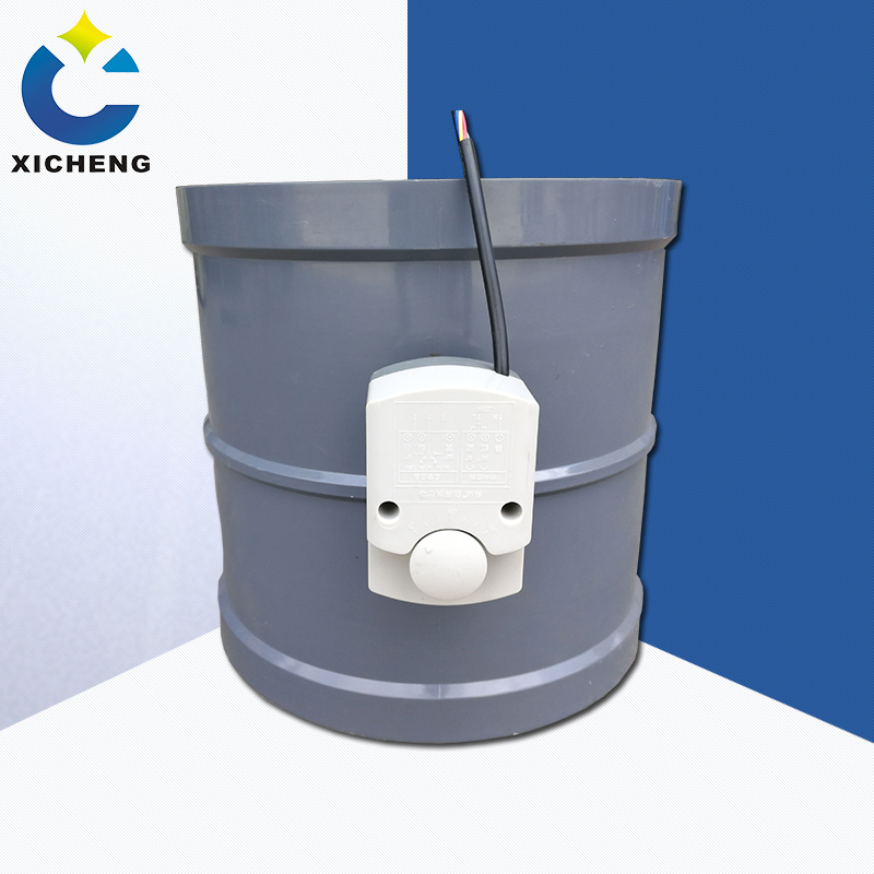 Flame retardant electric air valve