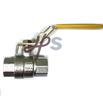 Brass F/F NPT or BSPT thread ball valve with lever handle