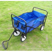 Vagão Dobrável Utilitário Dobrável para Camping e Compras
