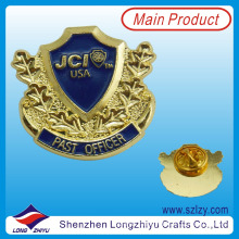 Hot sale military shield pin badge manufacturer