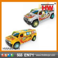 Pequeños coches funcionales con pilas musicales divertidos de los juguetes de la venta caliente