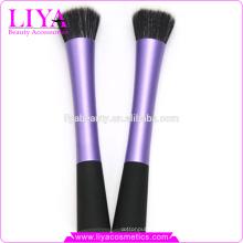 Venta caliente del cepillo cosmético de pelo natural maquillaje profesional