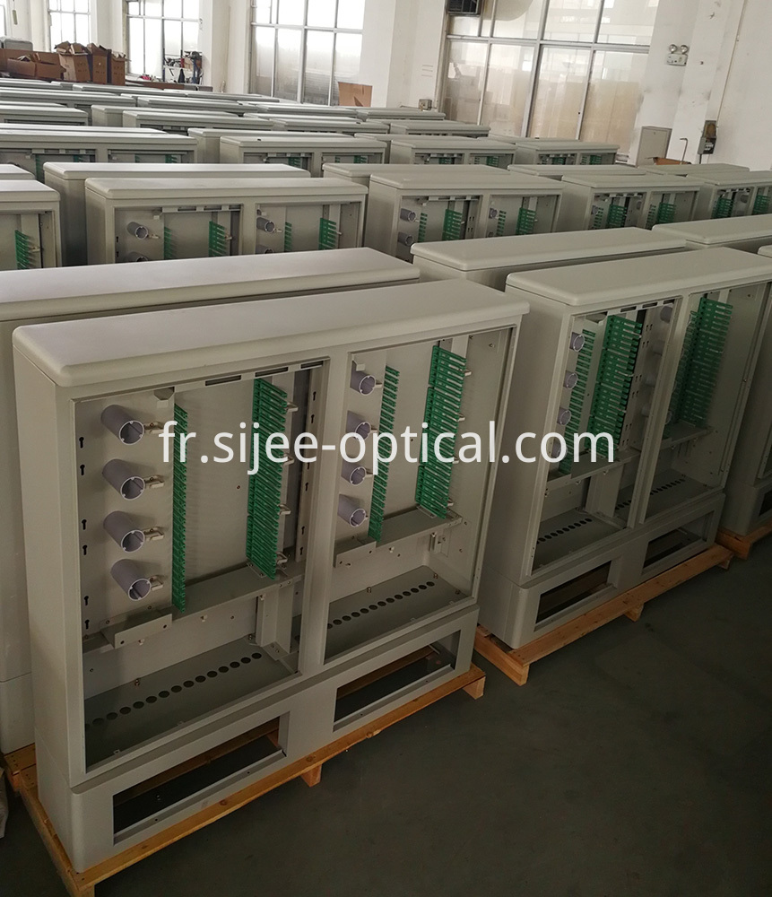 Outside Plant Fiber Cable Cross Connect Cabinets