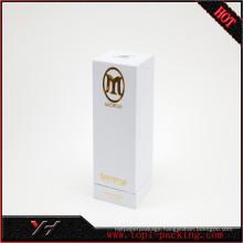 Luxury design cardboard packaging perfume box with EVA inner