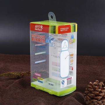 OEM Branding printed plastic baby bottle package (packing box PP)