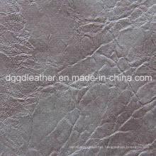 Top Selling Semi-PU Furniture Leather (QDL-51101)
