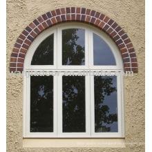Арочные фиксированные стеклянные окна