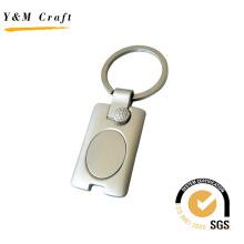 Rechteck Kundengebundener Qualitäts-Metallschlüsselring (Y02320)