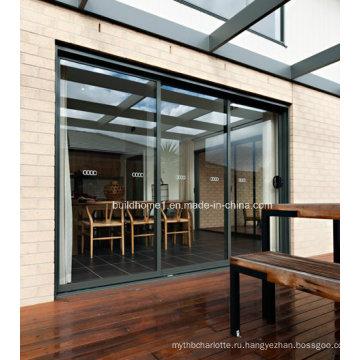 Скрытые ролики Раздвижные алюминиевые окна и двери