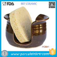 Wholesale Be Health Bathroom Ceramic Sponge Holder