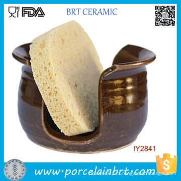 Venta al por mayor Be Health Bathroom Ceramic Sponge Holder