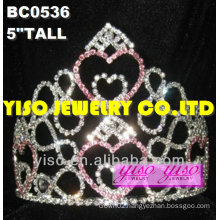 lovely hearts rhinestone pageant tiaras