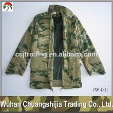 military windproof fur jacket