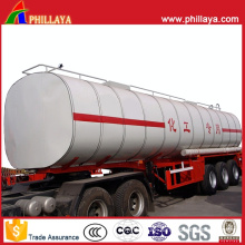Semi Trailer Chemical Liquid Tank for Transport