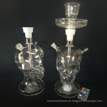 Tipo de esqueleto Glass Shisha Cachimba para mayorista