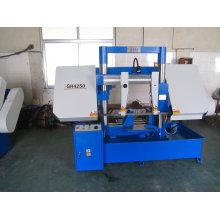 Máquina de sawing horizontal da faixa do metal da coluna dobro (GH4250)