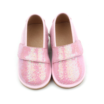 Kids Squeaky Skor Ljud Girls Sequins Shoes