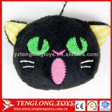 Vente chaude de petits jouets en peluche pendentif téléphone chean écran avec bouchon de poussière