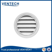 Air Vent Round Waterproof Louver