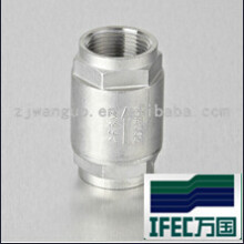 Sanitary Stainless Steel Thread Check Valve (IDEC-CV100002)
