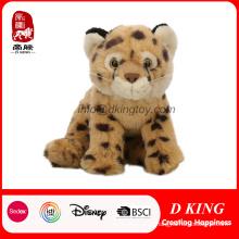 Brinquedo animal do leopardo enchido do melhor brinquedo personalizado da simulação