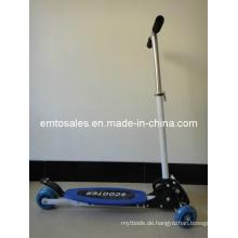 100 Mm Wheel Kick Scooter mit PU-Rad (ET-KS2001-BLUE)