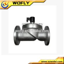 Válvula solenoide de 16 bar accionada por brida
