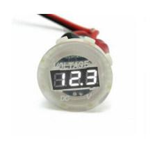 Motorcycle Car Digital LED Voltmeter Waterproof Volt Panel Meter Gauge Clear 12V-24V