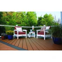 Alta qualidade umidade escudo ao ar livre WPC decking board / umidade escudo WPC pavimentação à venda