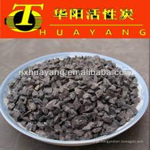 Materiais refractários e abrasivos grãos de alumina fundidos castanhos