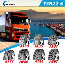 Neumáticos de camión Radial marca Aufine en China