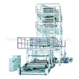 Three to Five Layers Coextrusion Film Blowing Machine (IBC Film Tube Inner Cooling Syterm) (EN/SJ55-GS1300)
