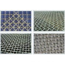 Plain Crimped Weave berkerut Wire Mesh