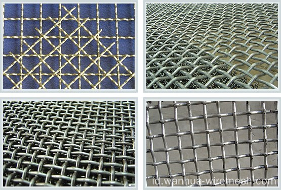 Anping Crimped Metal Wire Mesh