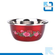 Tazones de cocina de acero inoxidable personalizados de varios tamaños Tazones de mezcla