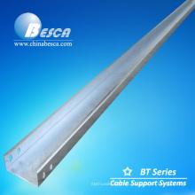 Bandeja de cable de acero inoxidable (UL, cUL, SGS, IEC, CE, ISO)