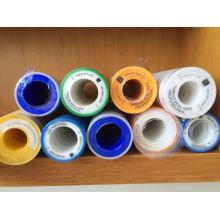 100% PTFE клейкая лента PTFE лента с резьбой тефлоновая лента для газовой трубы