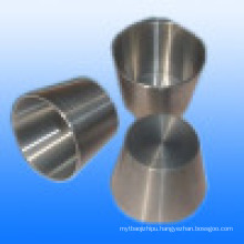 Forged Machining 99.95% Molybdenum Crucible